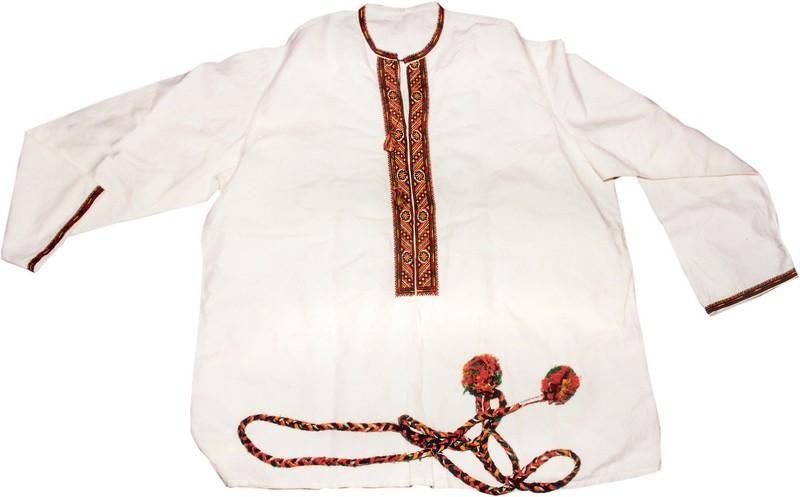 Плетение пояса славянскими 144