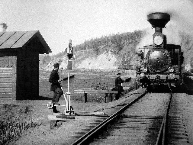 железная дорога в России между Петербургом и Царским Селом
