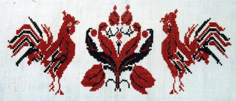 Рис. 13. Мотив куста в трехчастной композиции