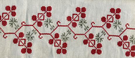 Рис. 31–34. Мотив волнообразного растительного побега