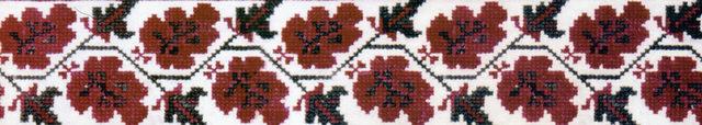 Рис. 39. Растительный побег с мотивом дубовых листьев