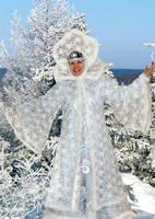 Как сшить костюм зимы своими руками