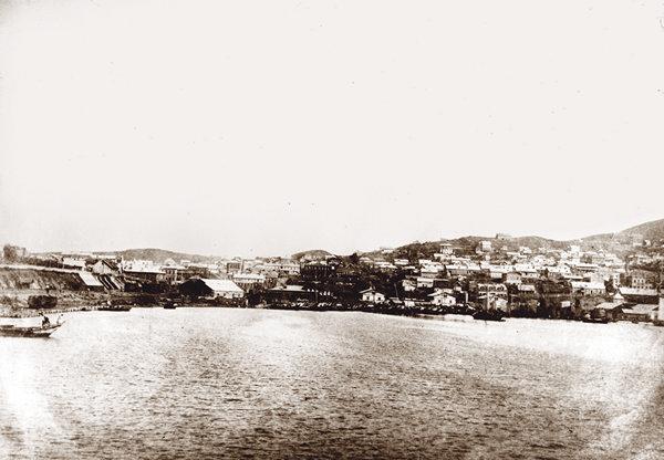 Панорама Владивостока. Фото П.И. Гомзякова