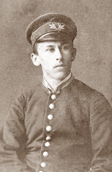 П.И. Гомзяков – гимназист. Владивосток