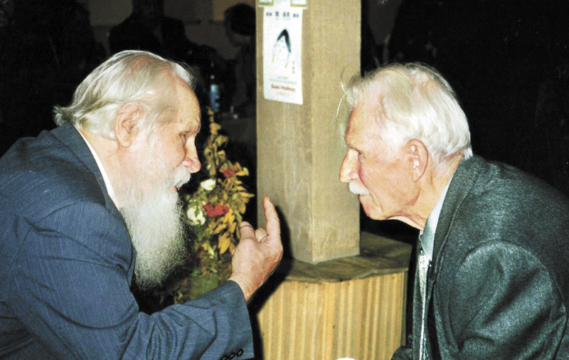 Всеволод Петрович Сысоев и Николай Дмитриевич Наволочкин. 2002