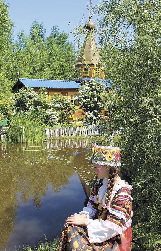 «Русская деревня». Часовня в честь святой равноапостольной великой княгини Ольги